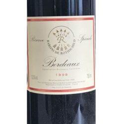 Baron Philippe de Rothschild Réserve Spéciale Bordeaux